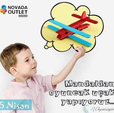 Çocuk Kulübü; Mandaldan Oyuncak Uçak Yapıyoruz…