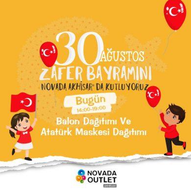 30 Ağustos Zafer Bayramı Coşkusunu  Novada Akhisar'da kutladık!