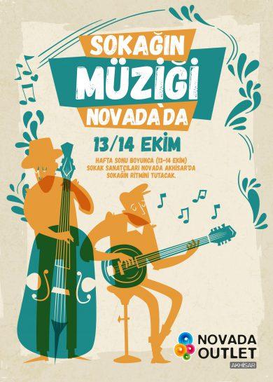 Sokağın Müziği Novada'da