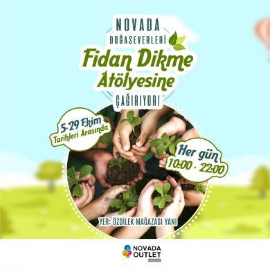 Novada Doğaseverleri Fidan Atölyesi'ne Çağırıyor!