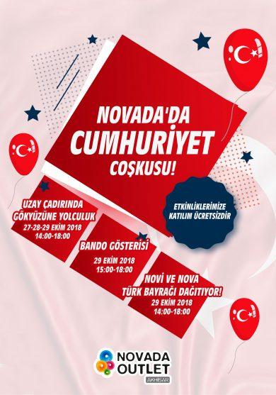 Novada'da Cumhuriyet Coşkusu