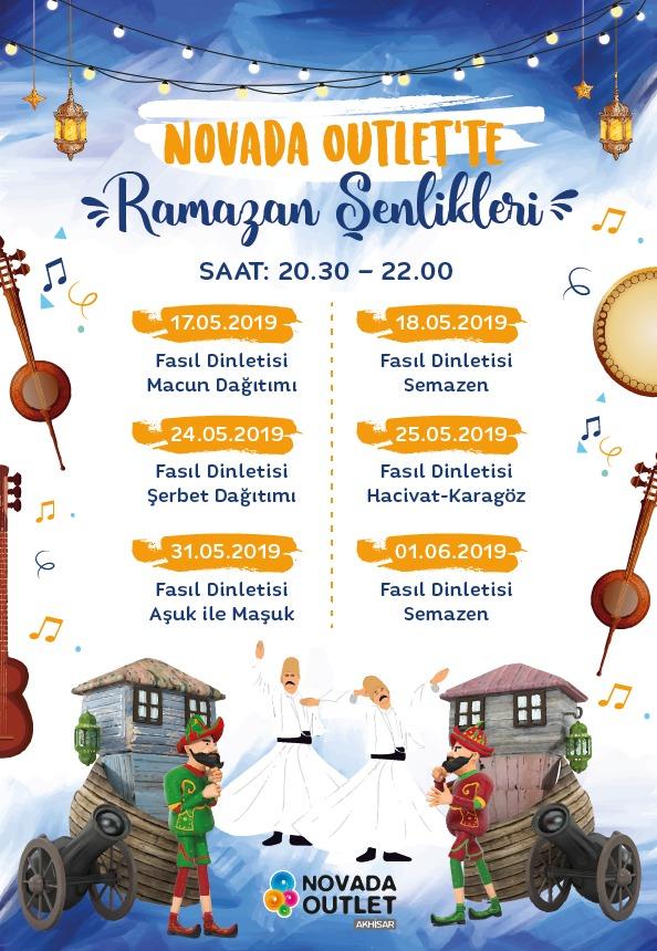 Novada Outlet'te Ramazan Şenlikleri