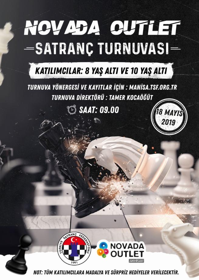 Novada Outlet Satranç Turnuvası Başlıyor